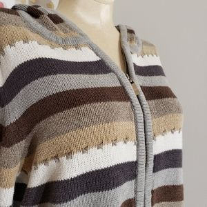 Crazy Horse hooded sweater size Large